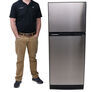 furrion rv refrigerators full fridge with freezer 10 cubic feet fr32sr