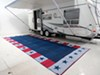 Faulkner RV Mat - Independence Day - Red, White, and Blue - 8' x 20' 20L x 8W Feet FR46502