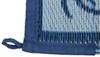 Faulkner RV Mat - Vineyard - Blue - 9' x 12' Blue FR48701