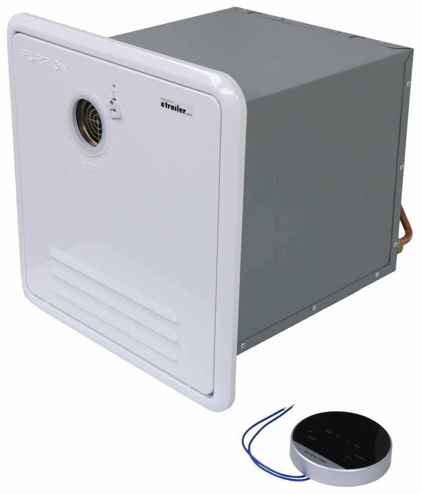 RV Water Heaters FR98SR - 12-5/8L x 12-13/16W x 19-3/16D Inch - Furrion