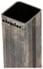 """Fulton Square Mounting Channel for Drop-Leg Stabilizer Jacks - Weld-On - 13"""" Long Outer Tube FSJ10300"""