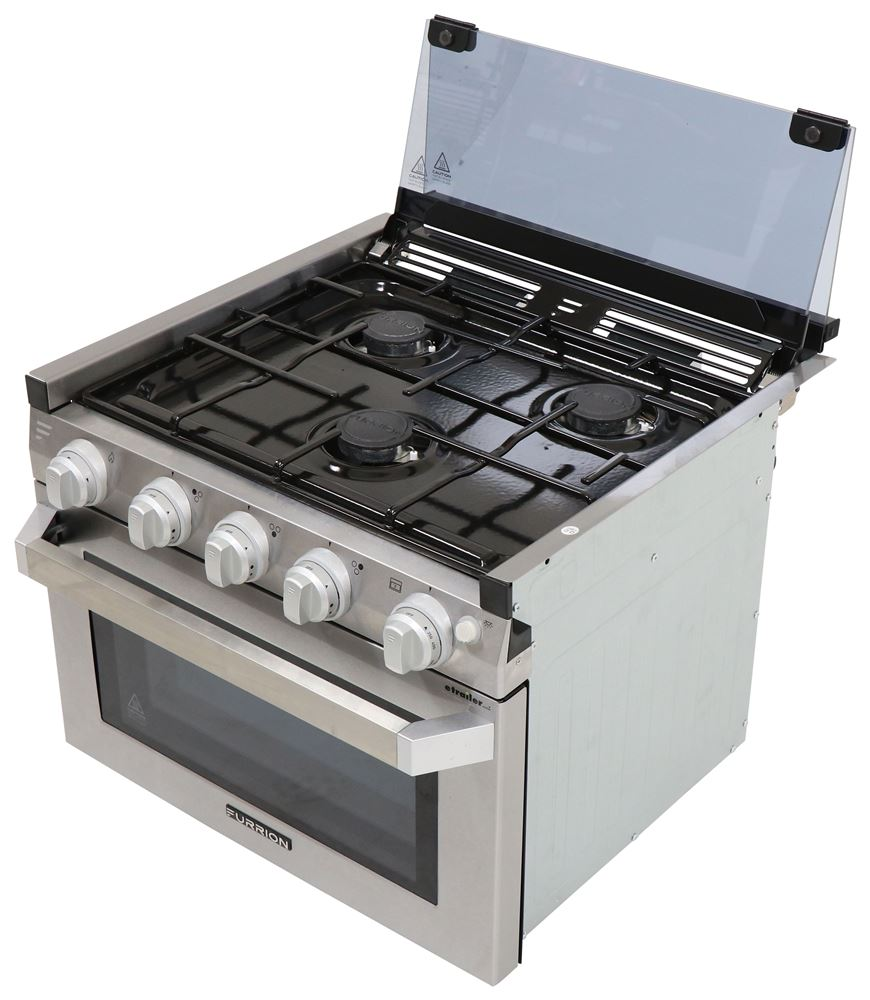 Furrion 17W x 17D Inch RV Stoves and Cooktops - FSRE17SASS