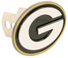 """Green Bay Packers 2"""" Oval NFL Trailer Hitch Receiver Cover NFL FTHS115S"""