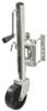 fulton trailer jack sidewind no drop leg round snap-ring swivel marine - bolt on 10 inch lift 1 200 lbs