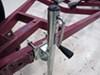 0  trailer jack fulton boat side frame mount sidewind round snap-ring swivel marine - bolt on 10 inch lift 1 200 lbs