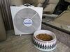 Fan-Tastic Vent Endless Breeze Portable Box Fan w/ Hanging Brackets - 12V - 3 Speeds - White FV01100WH