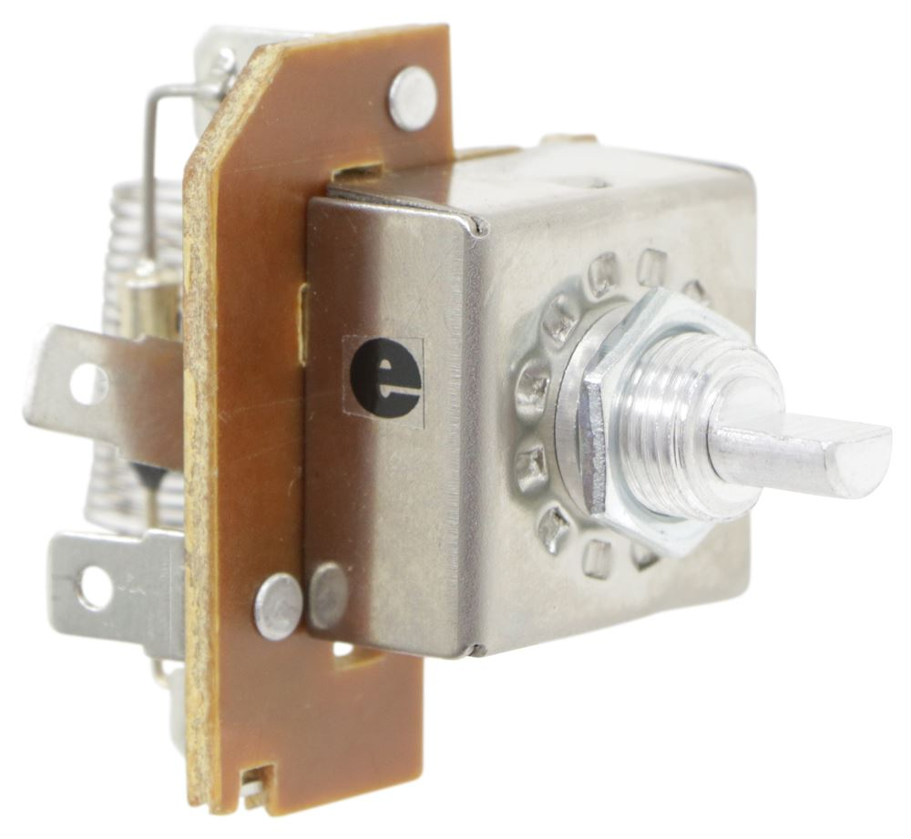 Replacement 3-Speed Switch for Fan-Tastic Vent Roof Vent Switch FVK1031-05