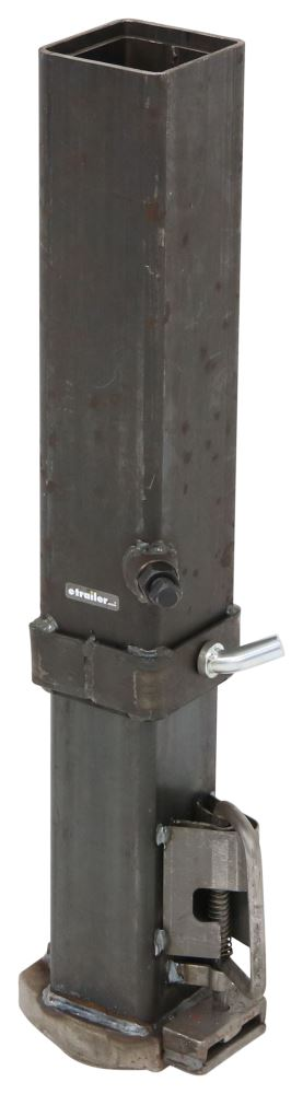 GCSQ-25008 - Square Tube etrailer Coupler with Outer and Inner Tube