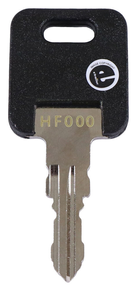 Replacement Key for FIC Locks - HF317 - Qty 1 Keys 295-000170