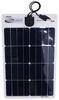 go power rv solar panels roof mounted kit 1 panel flex charging system with digital controller - 35 watt