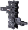 gen-y hitch trailer ball mount adjustable 7000 lbs gtw rebel x w/stacked receivers - 2 inch 7-1/2 drop/rise 7k