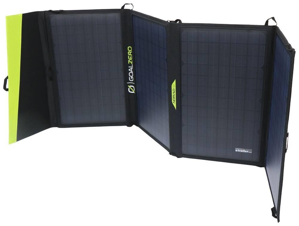 Goal Zero Nomad 50 Solar Panel - Portable - 50 Watt - USB 8mm,USB A GZ37FR