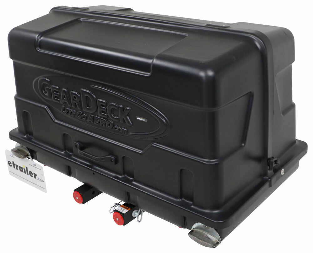 H00604 - Fits 2 Inch Hitch Lets Go Aero Enclosed Carrier