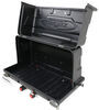 "GearDeck 17 Enclosed Cargo Carrier for 2"" Hitches - Slide Out - 17 cu ft - 300 lbs - Black Molded H00604"