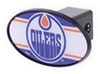 great american hitch covers fits 2 inch standard edmonton oilers nhl trailer receiver cover - abs plastic