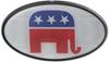 HCC11506 - Plastic Face Great American Hitch Covers