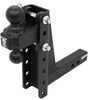 bulletproof hitches trailer hitch ball mount 2 inch 2-5/16 two balls drop - 8 rise hd208