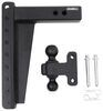 HD2512 - Drop - 12 Inch,Rise - 12 Inch BulletProof Hitches Trailer Hitch Ball Mount