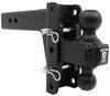 BulletProof Hitches 12000 lbs GTW, 36000 lbs GTW Trailer Hitch Ball Mount - ED254