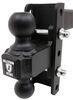 ED254 - 12000 lbs GTW, 36000 lbs GTW BulletProof Hitches Adjustable Ball Mount