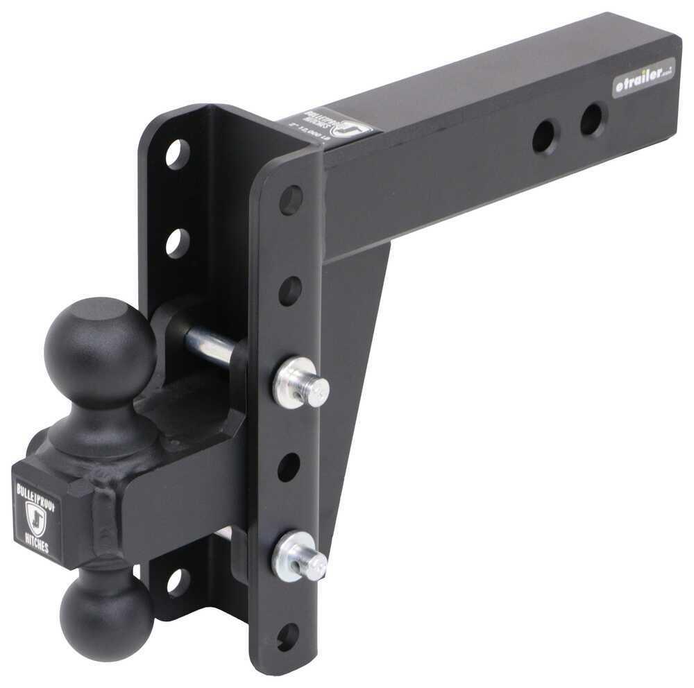 HD256 - Steel Ball BulletProof Hitches Trailer Hitch Ball Mount