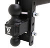 bulletproof hitches trailer hitch ball mount adjustable 2 inch 2-5/16 two balls