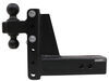 bulletproof hitches trailer hitch ball mount 2 inch 2-5/16 two balls drop - 6 rise hd306