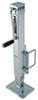 fulton trailer jack sidewind drop leg marine - square tube fixed mount 28 inch lift 5 000 lbs