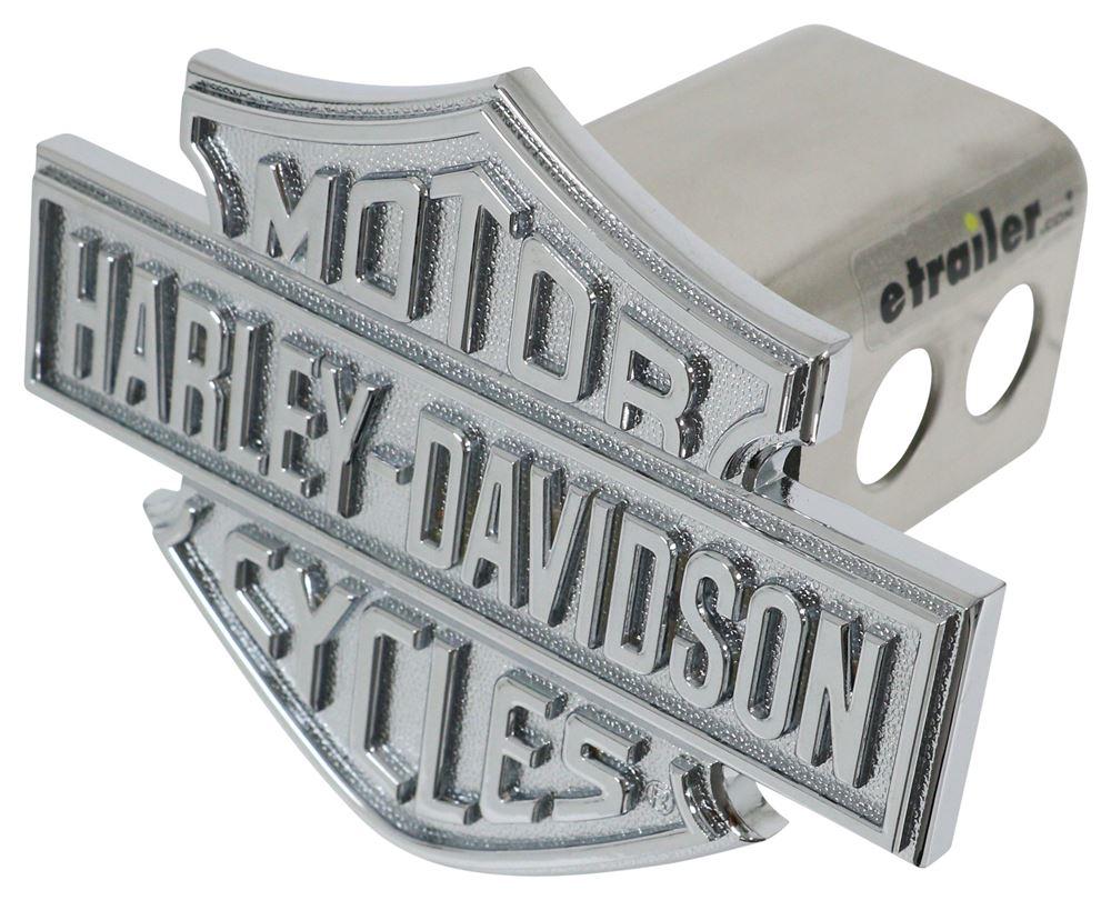"Harley-Davidson 3D Chrome Logo 2"" Trailer Hitch Cover Standard HDHC13"