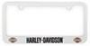 HDLF16 - Logo on Bottom Baron and Baron License Plates and Frames