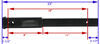 Tow Ready Hitch Extender - HE18