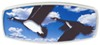 "HitchMate Flying Geese Trailer Hitch Receiver Cover - 1-1/4"" or 2"" Hitch - Aluminum Fits 1-1/4 Inch Hitch,Fits 2 Inch Hitch,Fits 1-1/4 and 2"