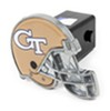 "Georgia Tech Yellow Jackets Helmet 2"" NCAA Trailer Hitch Receiver Cover Standard HHCC2371"
