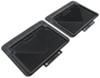 husky liners floor mats semi-custom fit second row auto - rear black