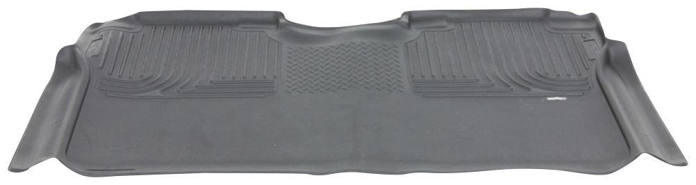 Husky Liners X-act Contour Custom Auto Floor Liner - 2nd Row Rear - Black Contoured HL53491