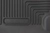 Husky Liners X-act Contour Custom Auto Floor Liner - 2nd Row Rear - Black Second Row HL53661