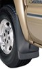 husky liners mud flaps  custom width molded - front pair