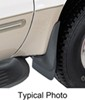 0  mud flaps husky liners front pair custom width in use