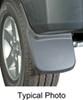 0  mud flaps husky liners rear pair custom width in use