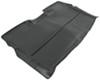 Husky Liners Classic Custom Auto Floor Liner - Rear - Black Thermoplastic HL63691