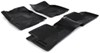 Husky Liners WeatherBeater Custom Auto Floor Liners - Front and Rear - Black Thermoplastic HL98671