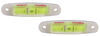 hopkins rv levels screw-on reflective multi-purpose trailer level with indicator - stick-on / qty 2