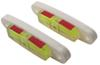 hopkins rv levels line screw-on reflective multi-purpose trailer level with indicator - stick-on / qty 2