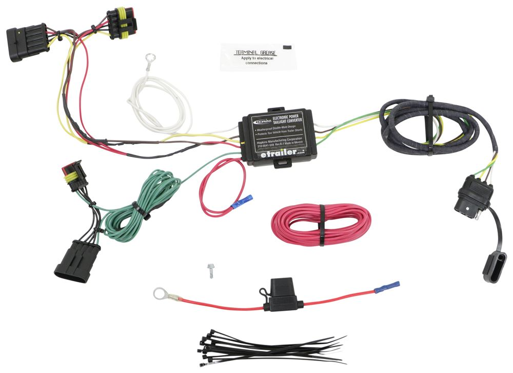Hopkins Custom Fit Vehicle Wiring - HM11140274
