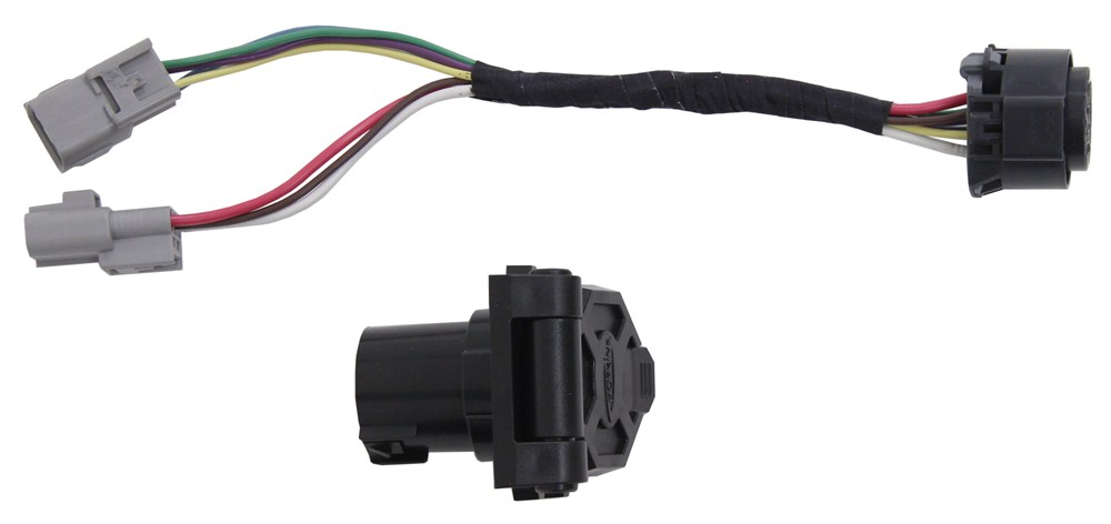 2011 Toyota 4Runner Hopkins Plug-In Simple Wiring Harness for Factory Tow  Package - 7-Way Trailer Connector