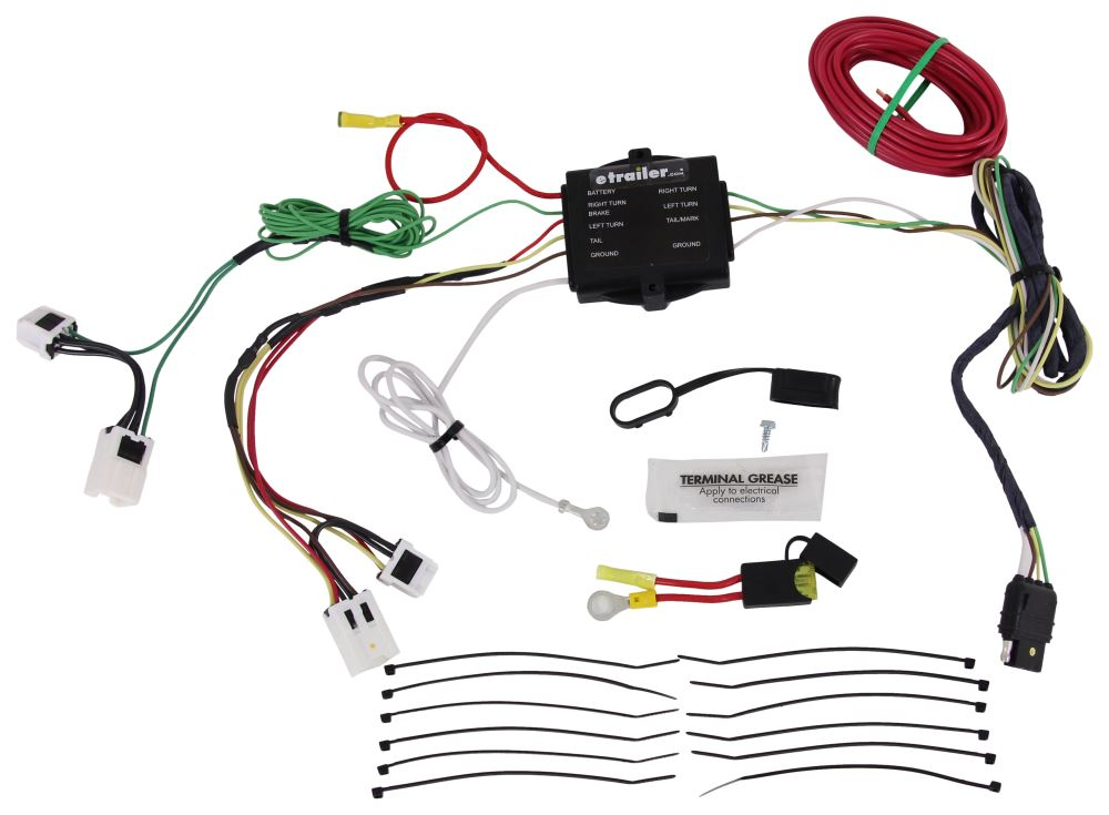 HM11143675 - Custom Fit Hopkins Trailer Hitch Wiring