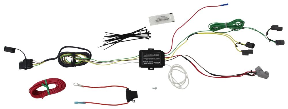 Hopkins Plug-In Simple Vehicle Wiring Harness with 4-Pole Connector 4 Flat HM11143690