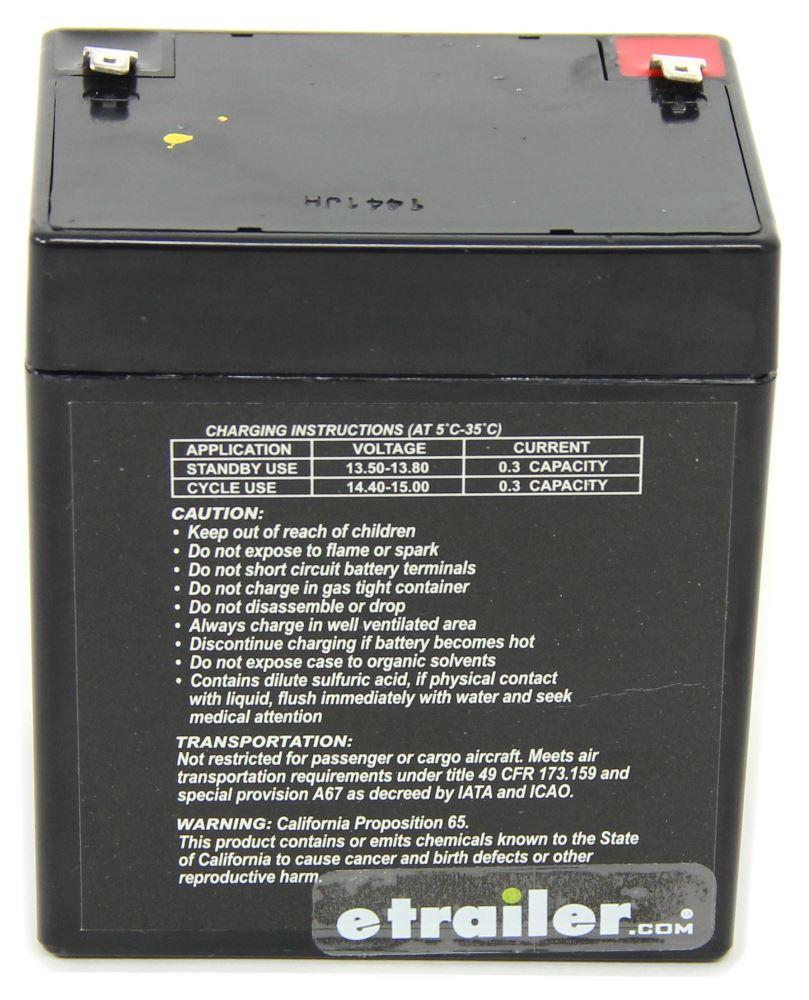 Breakaway Kit Replacement 12 V Battery 12V Battery HM20008