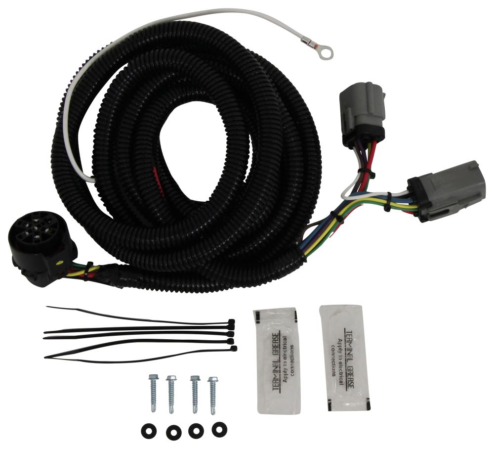 [SODI_2457]   Hopkins Endurance 5th Wheel/Gooseneck 90-Degree Wiring Harness with 7-Pole  Plug Hopkins Custom Fit Vehicle Wiring HM40157 | 2000 Ford F 250 Wiring Harness |  | etrailer.com