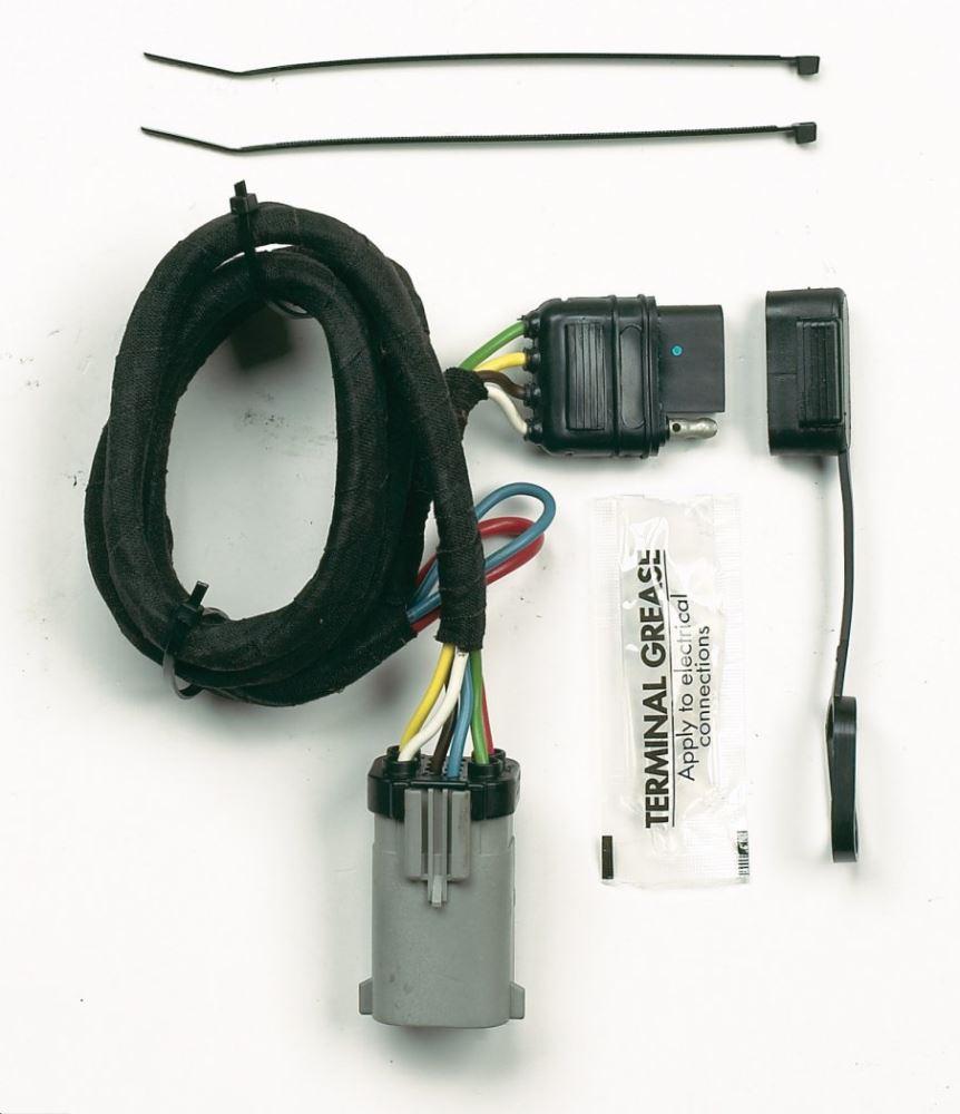 Custom Fit Vehicle Wiring HM40165 - 4 Flat - Hopkins